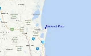 us map of national park locations national park surf forecast and surf reports qld