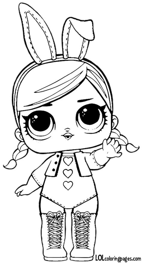 worry doll coloring page lol surprise kinderfeestje hoe doe je dat libros para