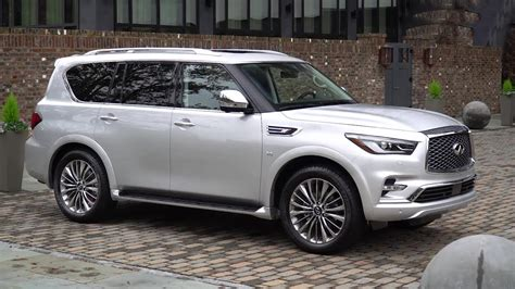 infiniti car qx80 2018 infiniti qx80 interior exterior and drive