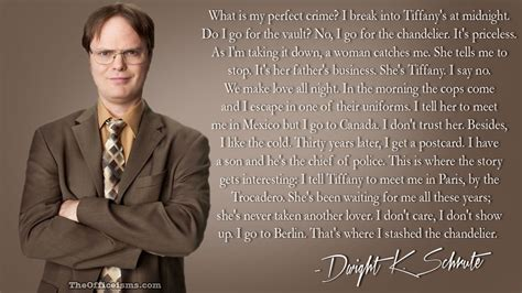 Dwight Office Quotes by Dwight Schrute Quotes Fact Bears Quotesgram