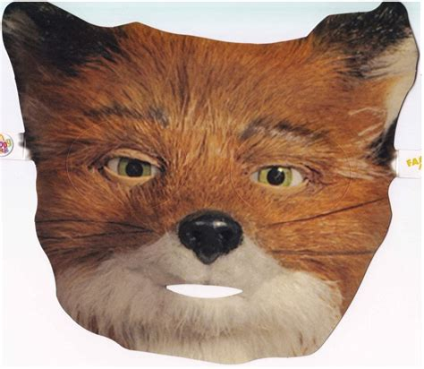 fantastic mr fox mask template fantastic mr fox mask family costumes