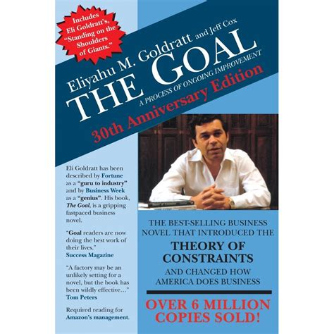 improvement a novel books the goal a process of ongoing improvement by eliyahu m