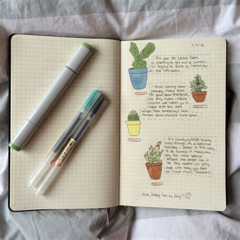 doodle draw journal an journaling workbook doodles of the plants i named featuring my thoughts