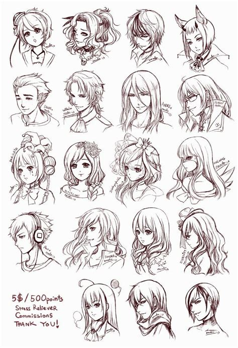 hairstyles of anime anime hairstyles short hairstyles ideas
