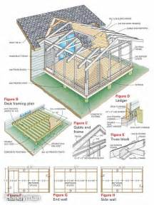 Porch Building Plans Screen Porch Construction The Family Handyman