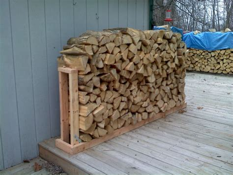 Wood Stacking Rack by Firewood Rack