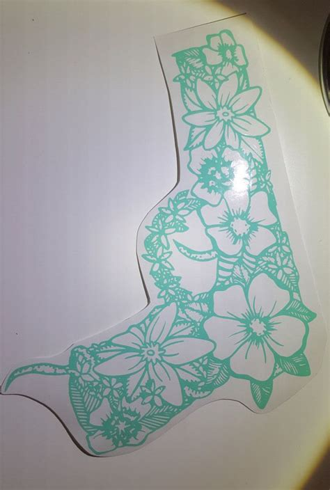 tattoo stickers mandala flower gun decal by comstockkreations on etsy