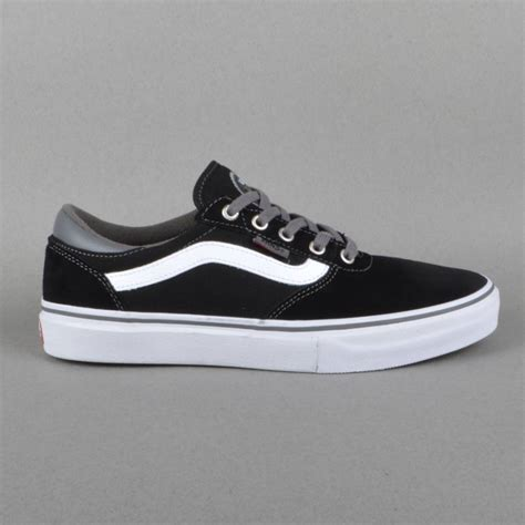 black skate shoes vans gilbert crockett pro skate shoes black pewter