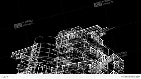 building sketch building sketch grow stock animation 503046