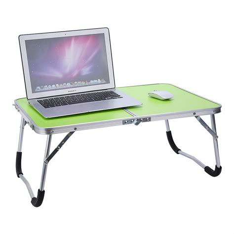 bed stand portable picnic cing folding table laptop desk stand pc notebook bed tray new ebay