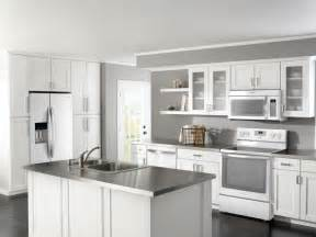 delightful Kitchens With Oak Cabinets And White Appliances #1: white-kitchen-cabinets-with-stainless-appliances.jpg