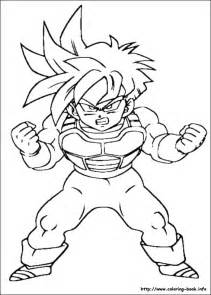 dragon ball coloring picture
