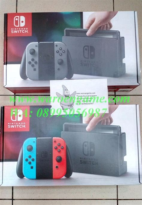 Nintendo Switch Gray 2 The Legend Of Dan 1 2 Switch jual beli nintendo switch n switch ns grey