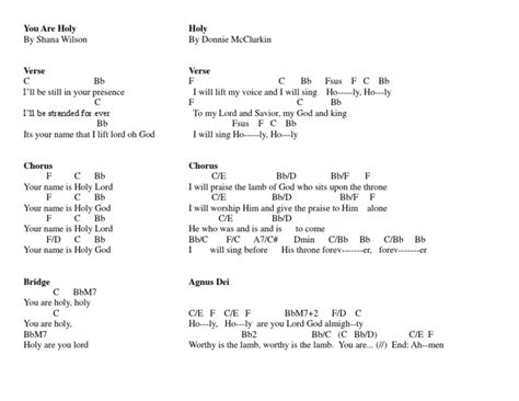 The Cribs Chords by Holy Medley Chords