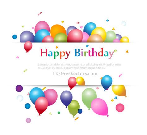 design birthday banner online free happy birthday background banner design for your text
