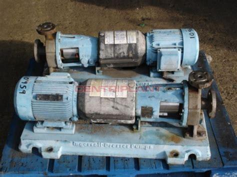 Ingersoll Dresser Pumps Uk Ltd by 10959 Ingersoll Dresser Stainless Steel Centriplant