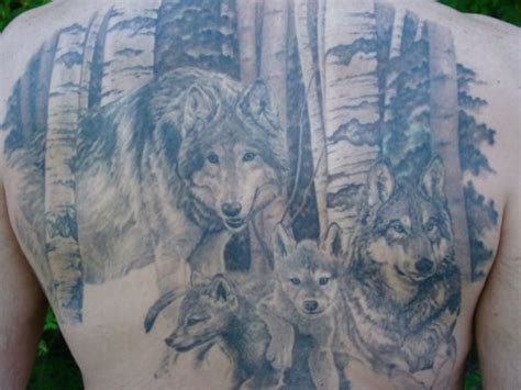 wolf family tattoo designs 76 meaningful wolf designs ideas for back