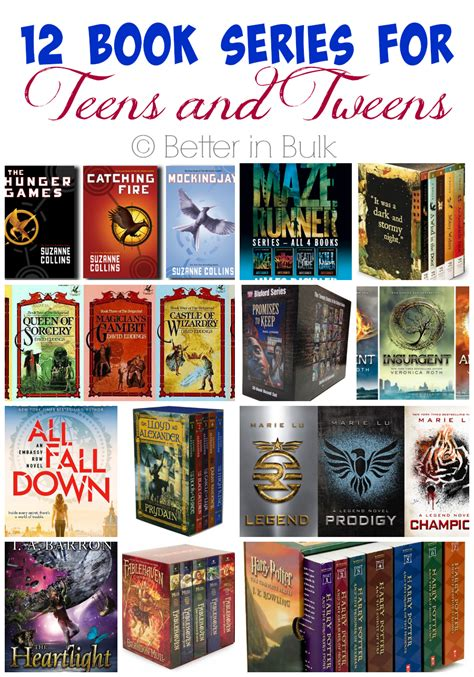 best book series summer reading book series for teens and tweens