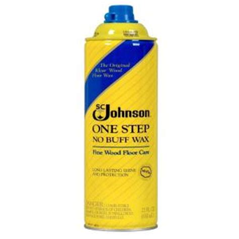 22 oz one step no buff wood floor wax aerosol 6 pack