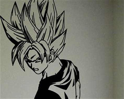 dragon ball z wall decal removable wall sticker mural goku dragon ball z goku wall decal goku dragon ball z decal