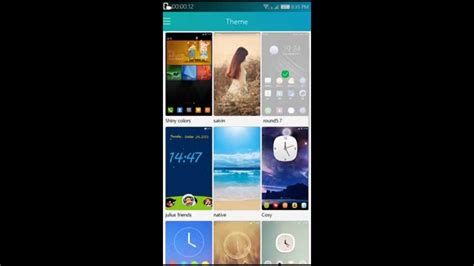 themes store note 3 how to add themes in cool ui of coolpad note 3 youtube