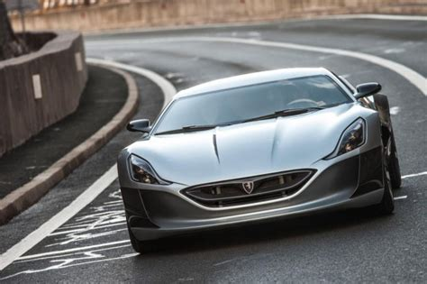 Fastest Electric Car Tesla Concept One Rimac Unveils The World S Fastest Electric