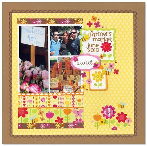 ladybug scrapbook layout ladybug garden collection from doodlebug scrapbook com