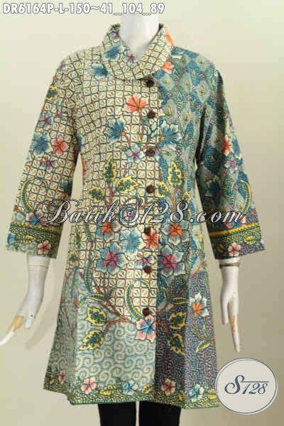 Jual Baju Untuk Jual Baju Batik Terusan Pakaian Batik Modern Elegan