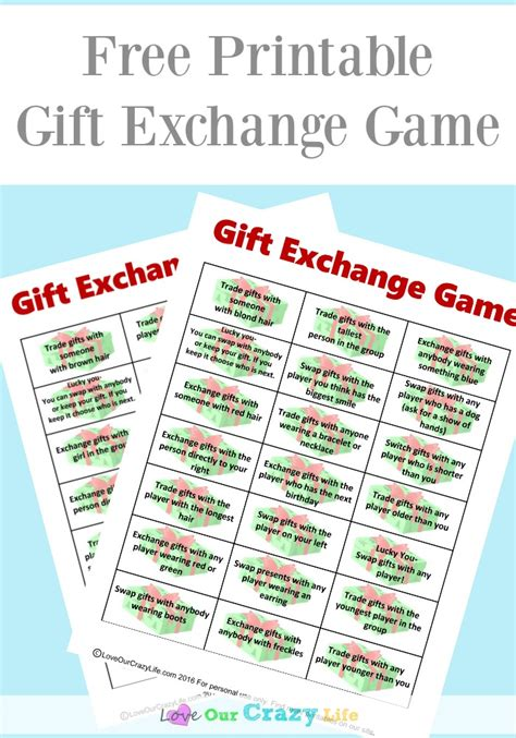 work christmas gift exchange free gift exchange printable this adventure called