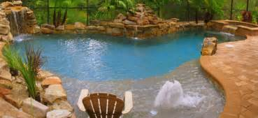 inground pool with waterfall swimming pool photos of luxury swimming pools