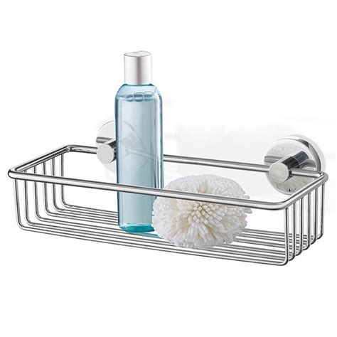 stainless steel bathroom basket zack scala 31cm modern stainless steel shower basket