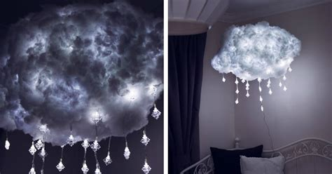 Diy Cloud Lights by Diy Cloud Light Is A Handcrafted Way To Bring Airy