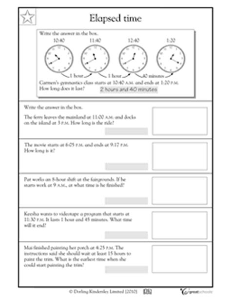 Elapsed Time Worksheets 4th Grade by 11 Best Images Of 4th Grade Elapsed Time Worksheets