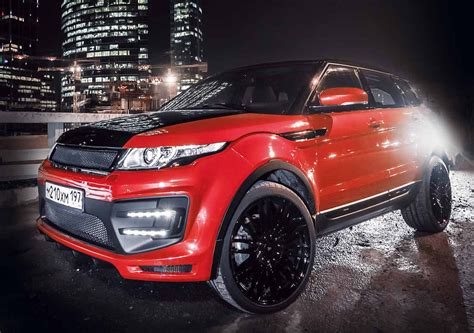 modified range rover evoque larte design range rover evoque modified autos world blog