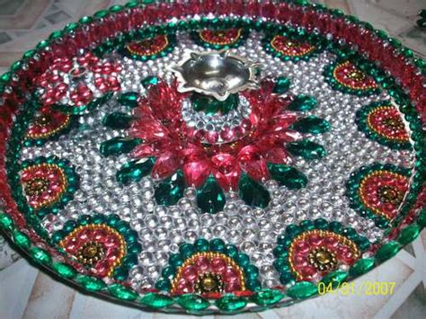 decorative aarti thali pictures decorative pooja thali in mumbai maharashtra india