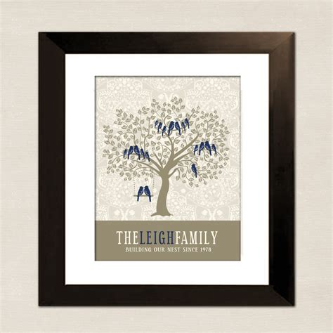 unique gifts for mom personalized gift for mom family tree custom art print