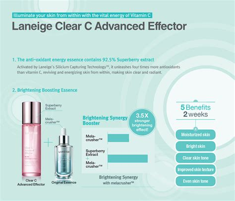 Laneige Clear C Advance Effector 150ml laneige clear c advanced effector 150ml hermo shop singapore