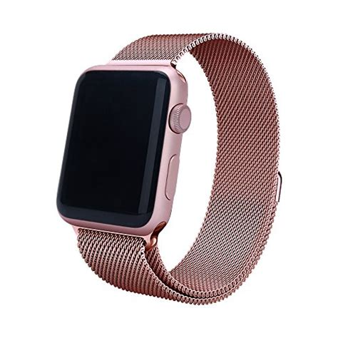 Apple Loop Kanvas Iwatch Iwo 2 38mm 42mm orobay apple band 38mm 42mm stainless steel milanese import it all
