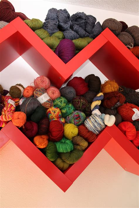 Yarn Shelf by Yarn Storage Ideas Inspiration Made Simple