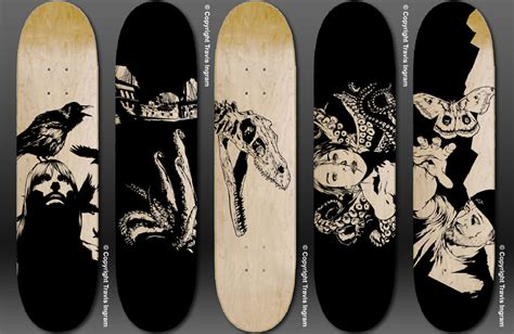 skateboard deck design 1000 images about skate or longboardism on