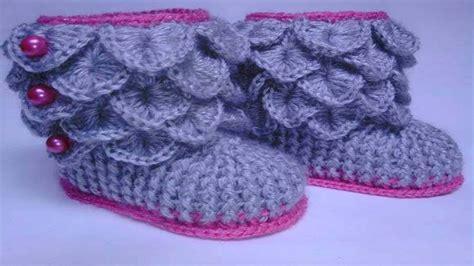 zapatos crochet paso a paso youtube zapatos de bebe tejidos en crochet ganchillo youtube
