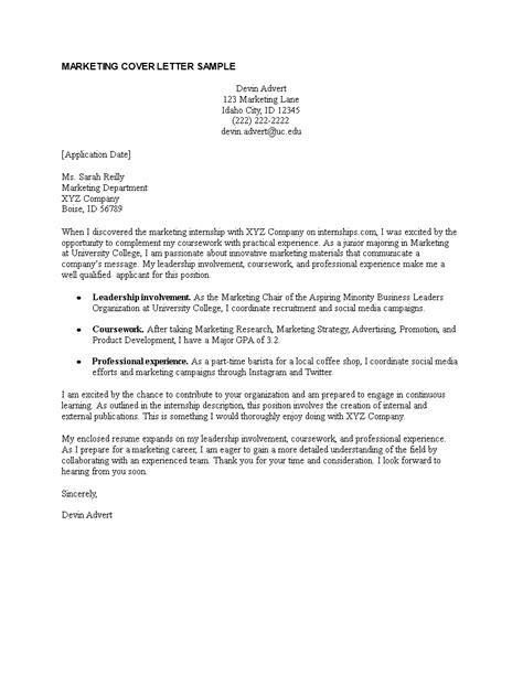 parker internship cover letter lim college mps student