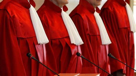 bundesverfassungsgericht robe bundesverfassungsgericht erste adresse f 252 r querulanten
