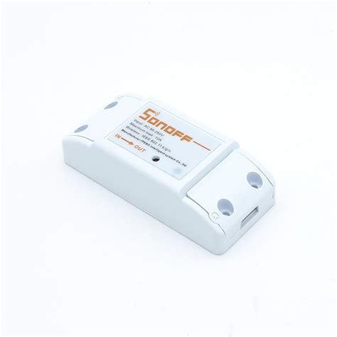 Switch Wifi sonoff basic wifi wireless smart switch for mqtt coap smart home itead im151116002 rlx