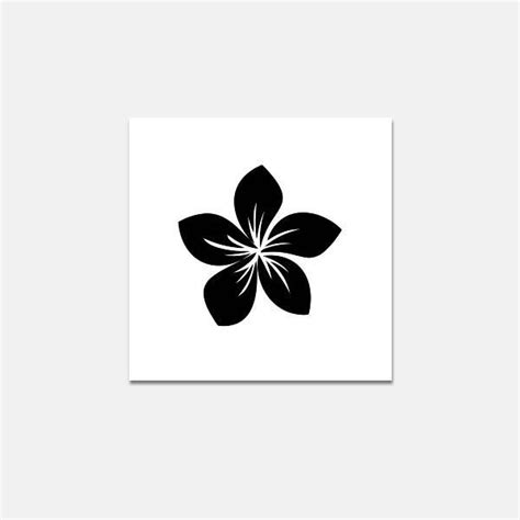 of frangipani stencil pictures to pin on pinterest