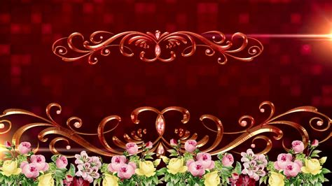 Wedding Title Background Free by Hd Royalty Background Animation Graphics Wedding Title