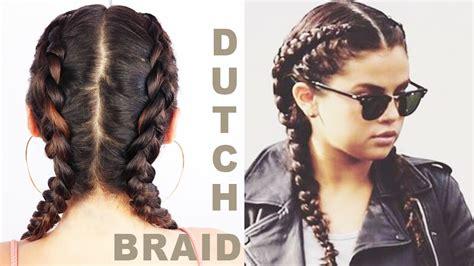 dutch braid   hair  beginners eman youtube
