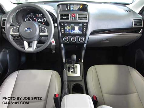 subaru forester interior 2017 2017 subaru forester interior photos