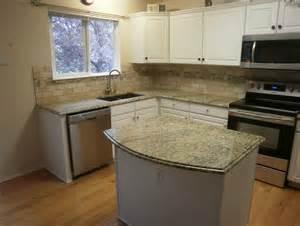 tile backsplash with granite lip home design ideas