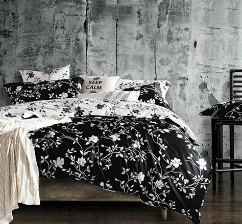 Black And White Bed Comforter Sets Black And White Bedding Sets That Will Make Your Room Look Great Sleepy